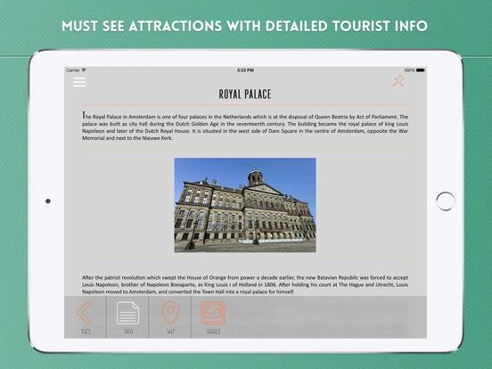 Amsterdam Travel Offline iPad Screenshot 3