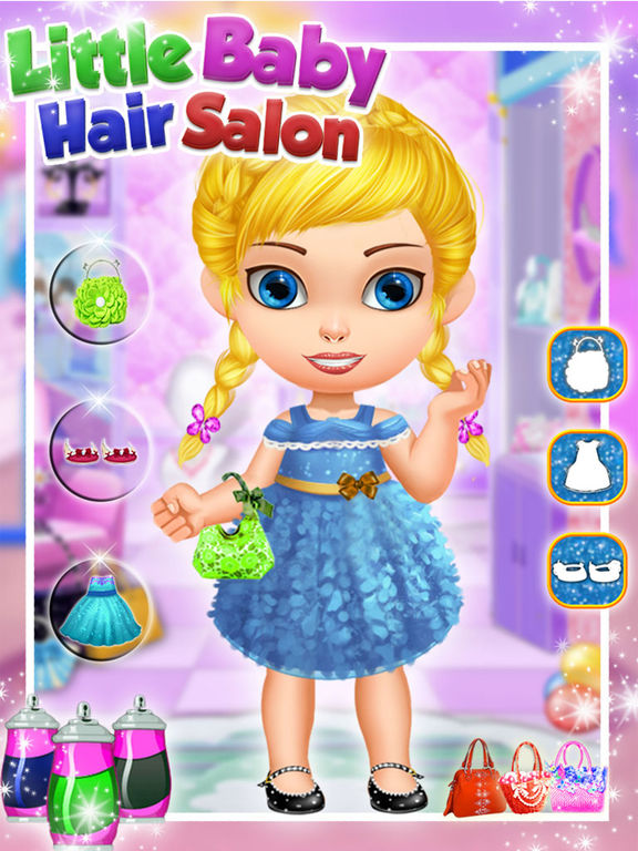 App shopper little baby girl hair salon lifestyle for 3 little birds salon