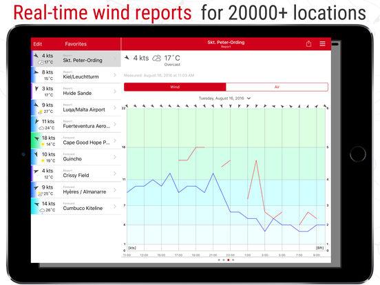 Windfinder iPad Screenshot 2