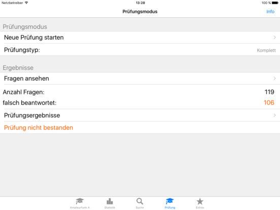 Amateurfunk - Klasse A iPad Screenshot 2