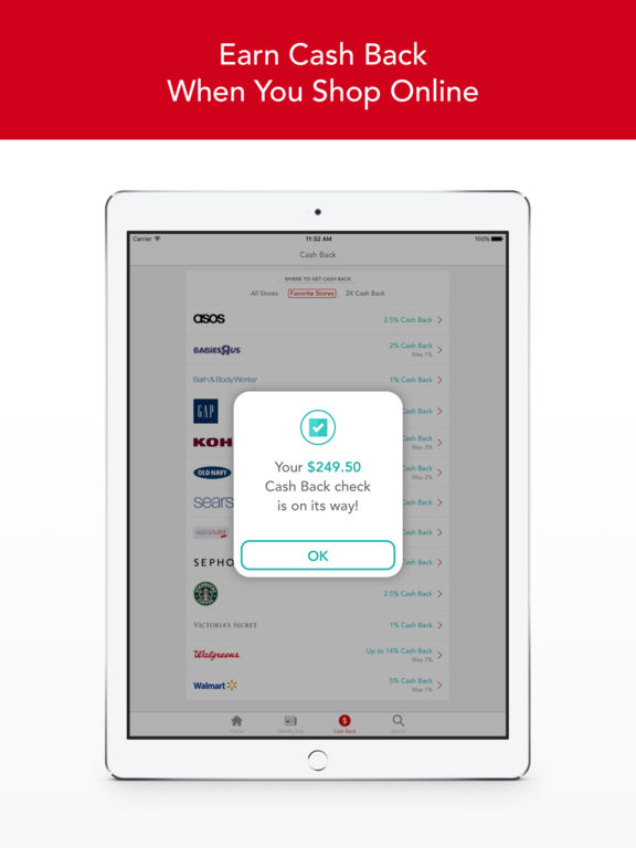 Coupon ipad app