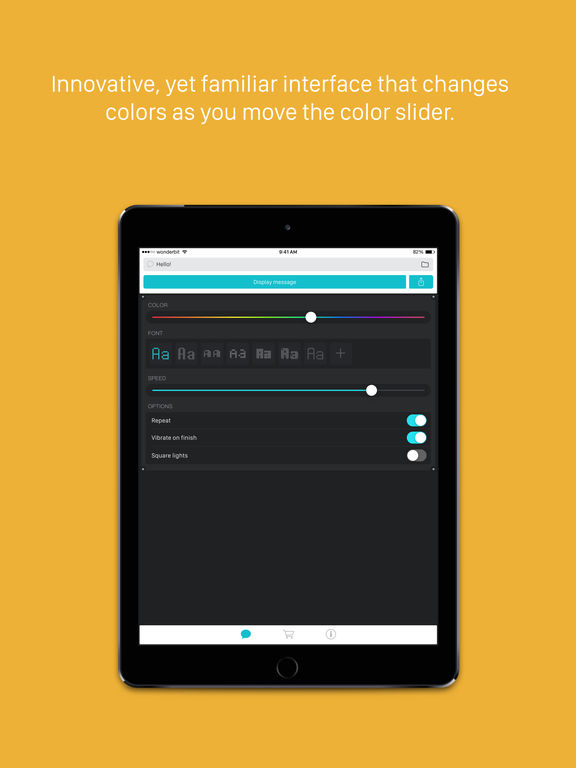 LEDit – The LED Banner App Screenshots