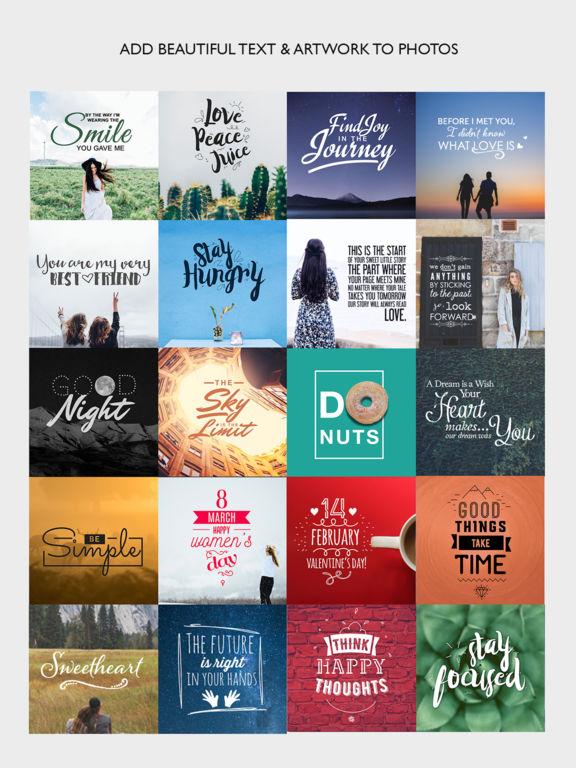 Cameraxis - Design Graphics & Add Text Over Photos Screenshots