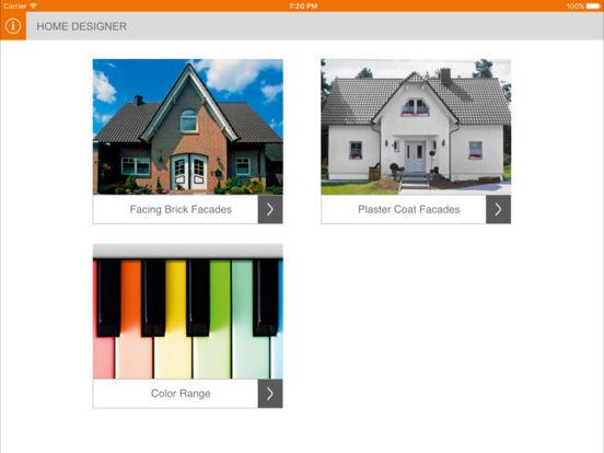 quick-mix Hausdesigner iPad Screenshot 1