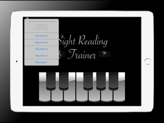 Sight Reading Trainer for iPad iPad Screenshot 5