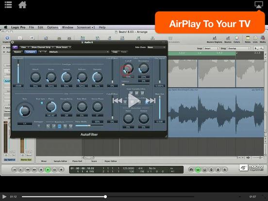Logic's Electronica Workflow Tricks iPad Screenshot 3