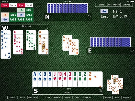 Shark Bridge - Game of Bridge World Champion 2014 screenshot