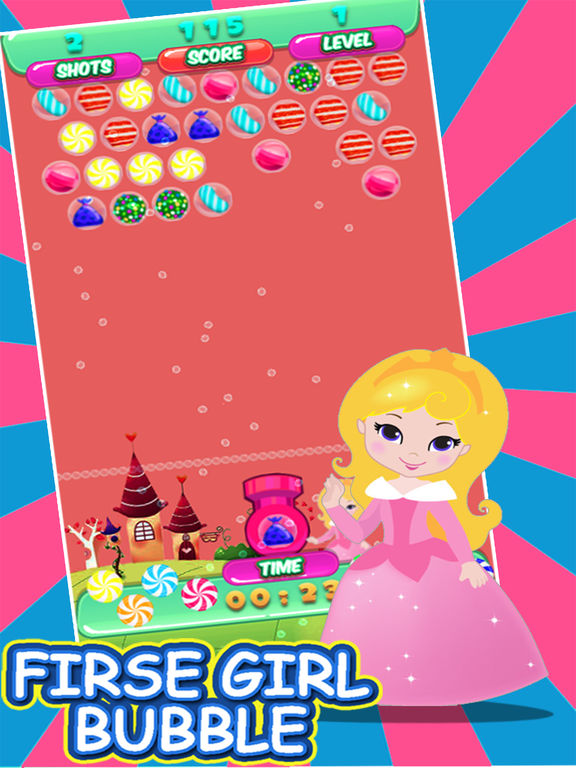 Bubble girl the game