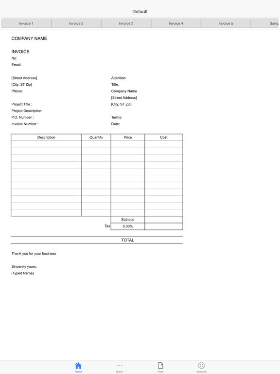 Invoice Suite Pro Screenshots