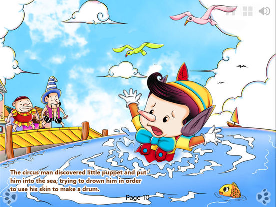 iBigToy-Pinocchio's Daring Journey HD Lite iPad Screenshot 5