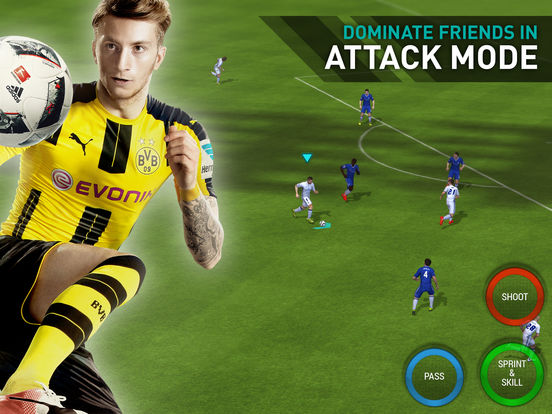 FIFA Mobile Soccer Screenshots