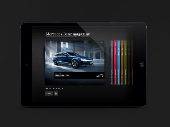Mercedesmagazine iPad Screenshot 2