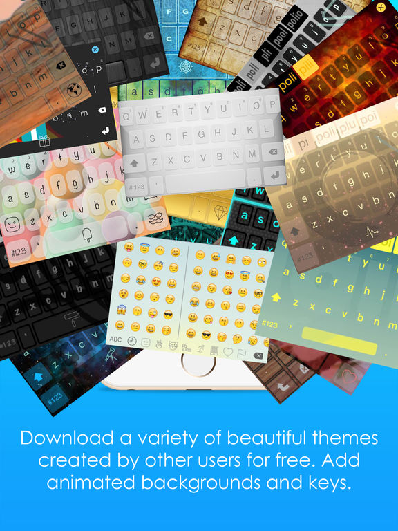 BriefKey – Custom Swipe & GIF Keyboard Screenshots