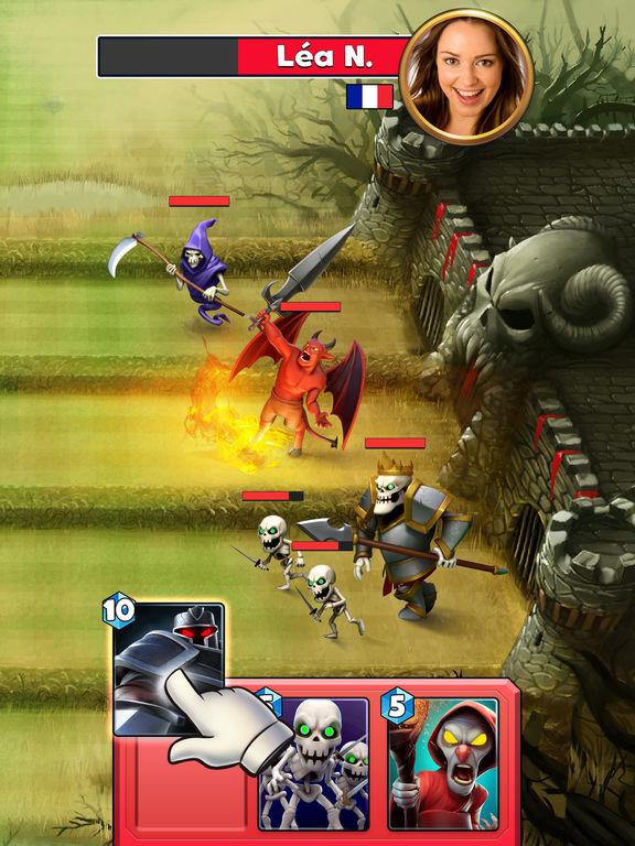 Castle Crush: Epic Strategy Gamescreeshot 2