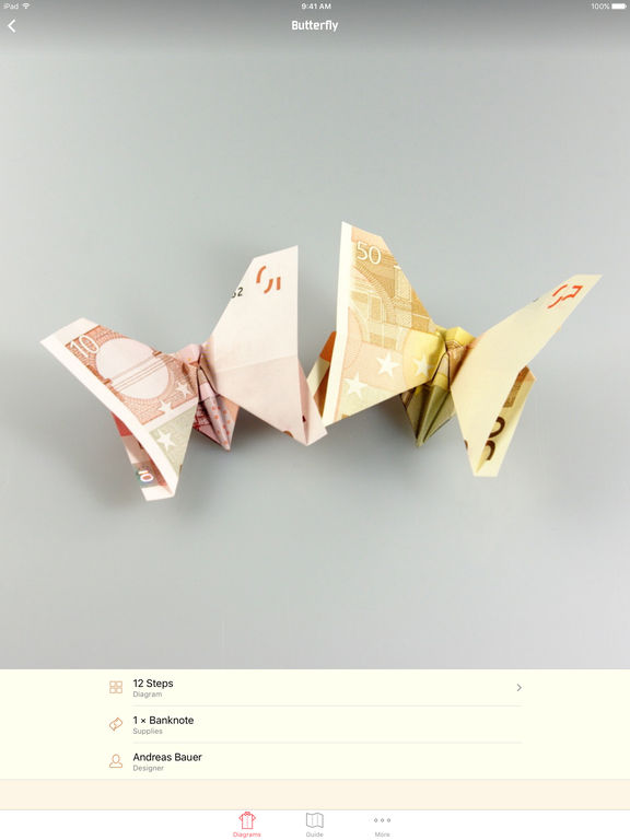 Money Origami - Learn How to Fold Money Screenshots