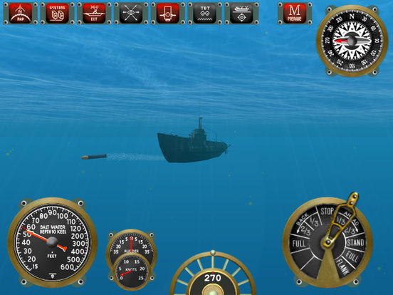 Silent Depth Submarine Simulation Screenshots