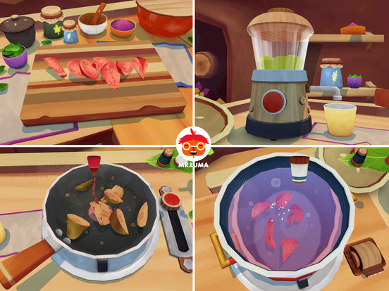 Mr. Luma's Cooking Adventure Screenshots