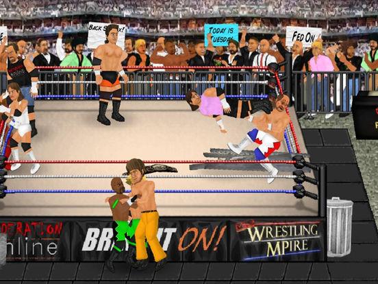 Wrestling Revolution HD на iPad