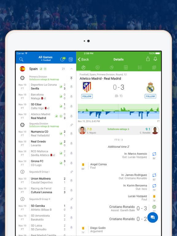 Scores app screenshot 6