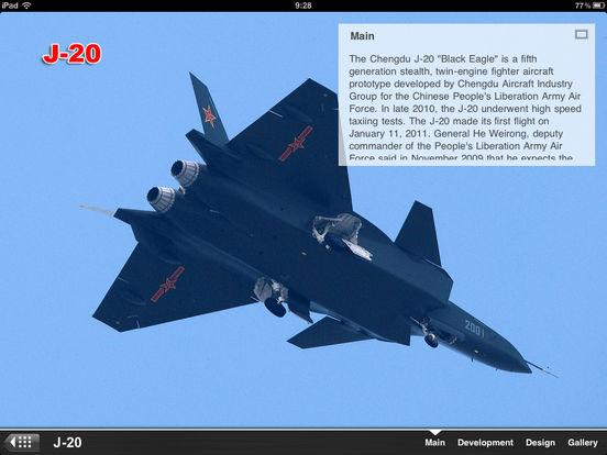 Next Super Fighter: J-20 VS. F-22 VS. F-35 VS. T-50 iPad Screenshot 2
