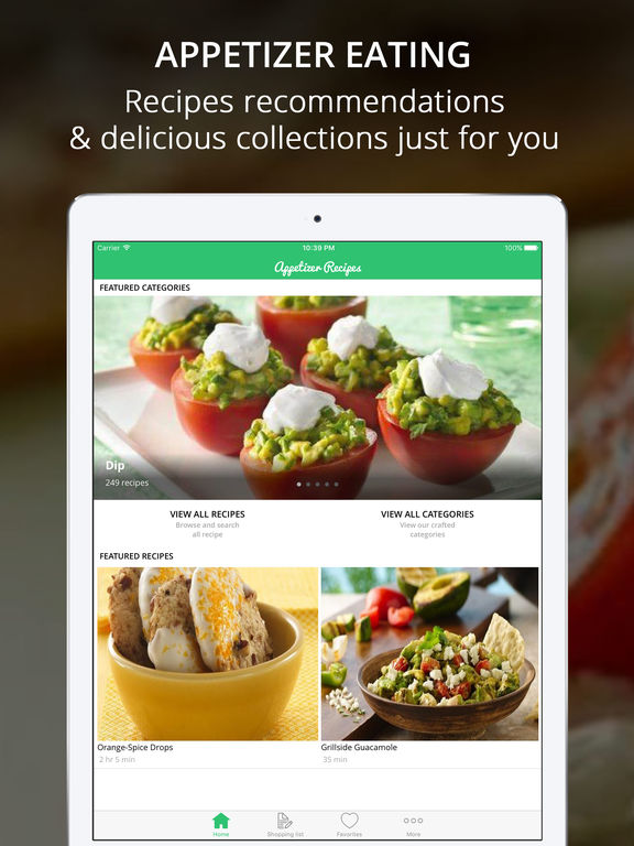 Appetizer Recipes Pro - Cook And Learn Screenshots