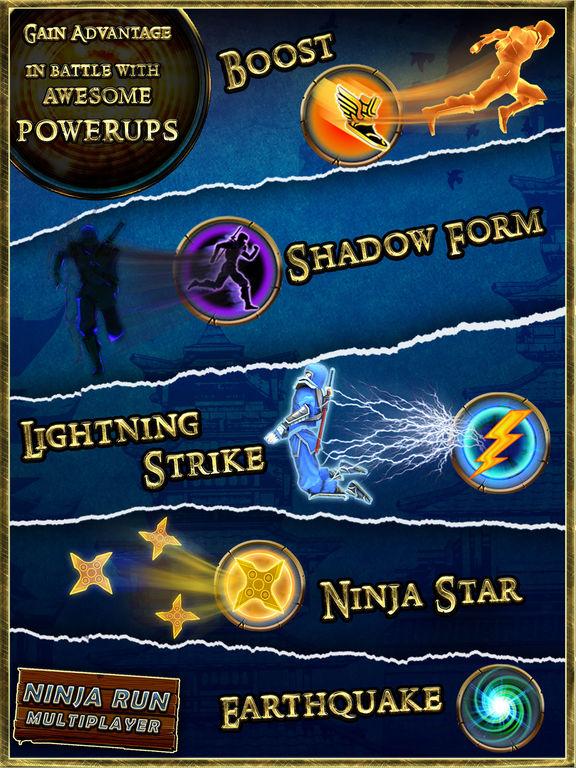 Ninja Run Multiplayer 3D Mega Battle Runner for Boys and Kids screenshot