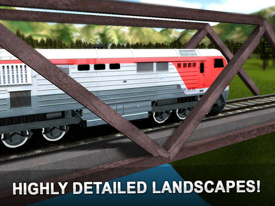 Train Ride 3D - Railway Journey Deluxe Screenshots