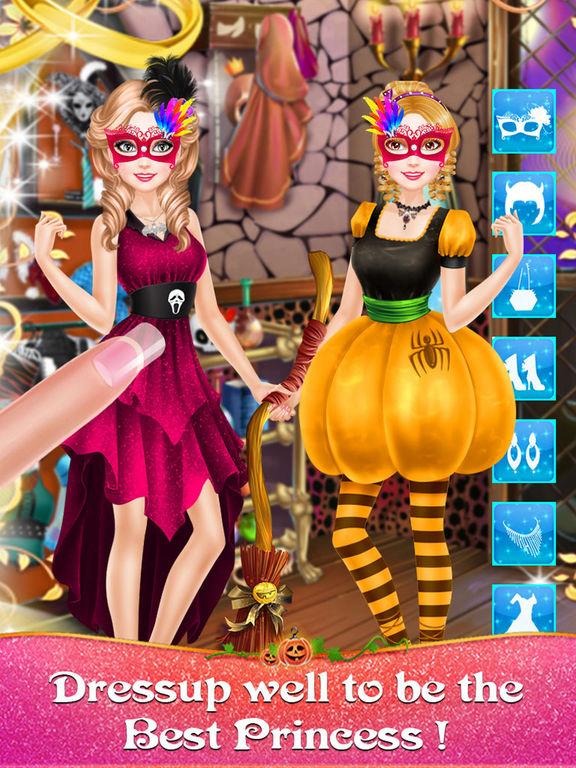 Halloween Princess Salons screenshot 8