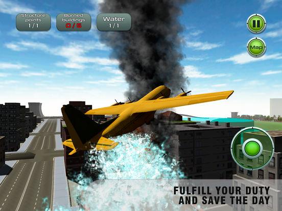 Airplane Emergency Firefighter Simulator Full screenshot 8