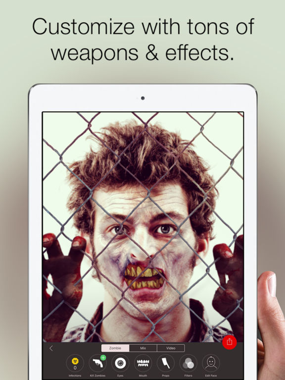 Zombify - Turn yourself into a Zombie Screenshots