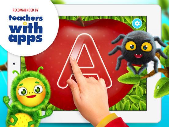 Yum-Yum Letters - handwriting for kids & ABC games Screenshots