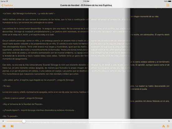 Cuento de Navidad - Charles Dickens iPad Screenshot 1
