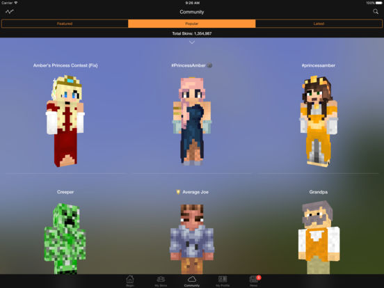 Minecraft Skin Studio IPA Cracked For IOS Free Download - Minecraft skins fur iphone