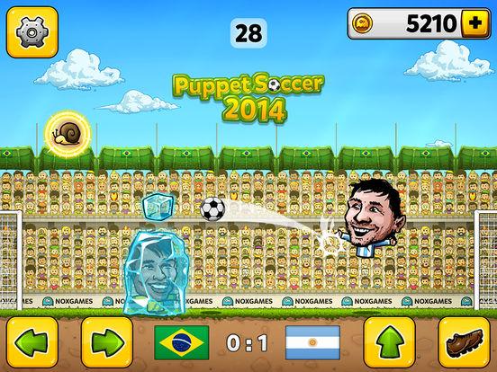 Puppet Soccer 2014 - футбол - Чемпионат мира марионеток Скриншоты7