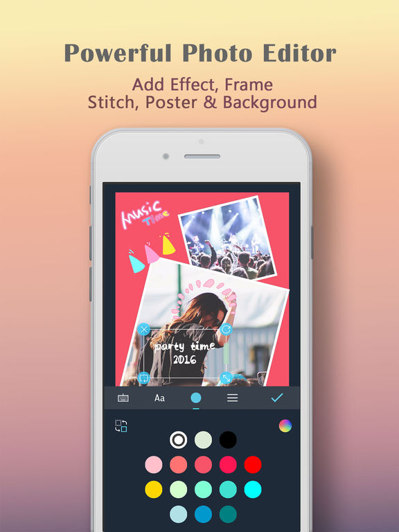 LiveCollage Pro - Instant Collage Maker&Pic Editor Screenshots