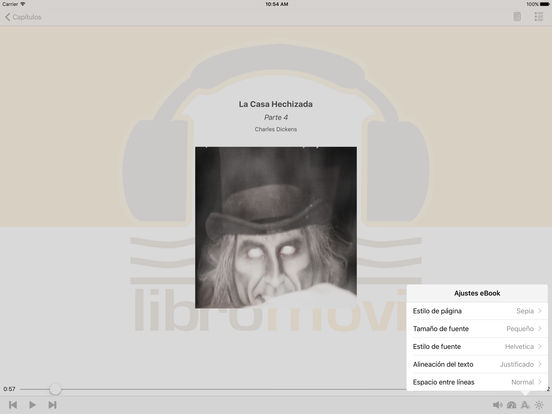 La Casa Hechizada – Audiolibro iPad Screenshot 1