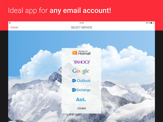 myMail – Email for Hotmail, Gmail and Yahoo Mail screenshot
