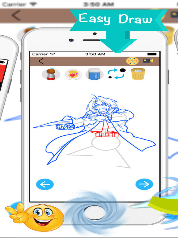 App shopper how to draw anime drawing education for Online drawing app