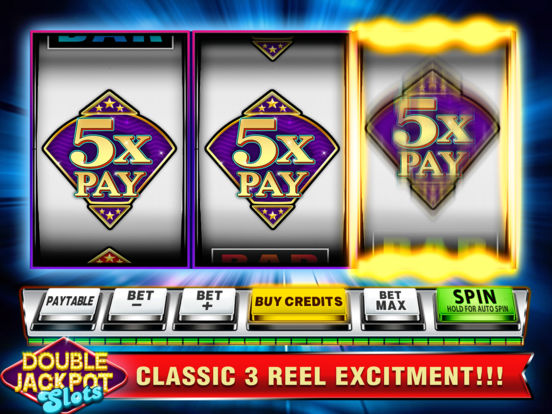 Double Jackpot Slots - Las Vegas Slot Machines!screeshot 3