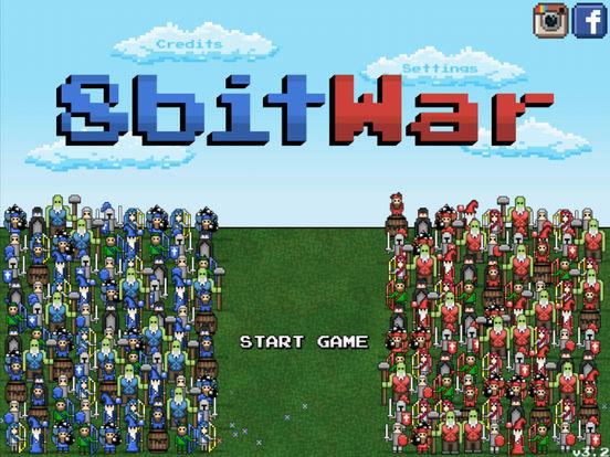 Screenshot #1 for 8bitWar: Origins
