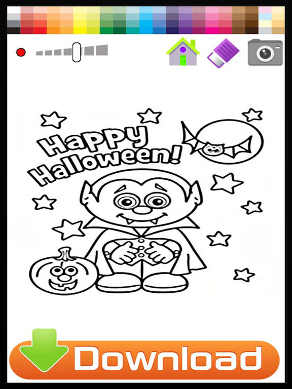 App Shopper Halloween Coloring Book For Kids Free Games