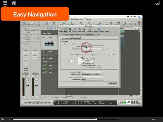MPV's Logic Pro 101 Tutorial iPad Screenshot 3