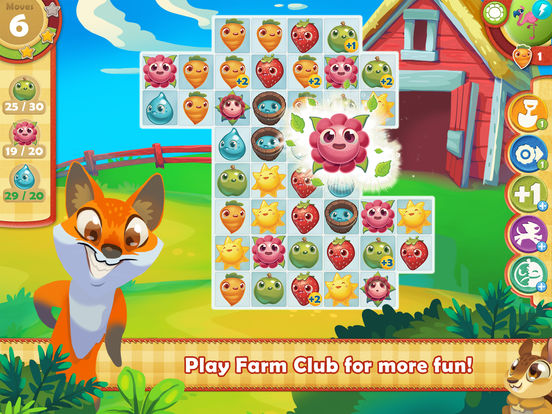 Screenshots of Farm Heroes Saga for iPad