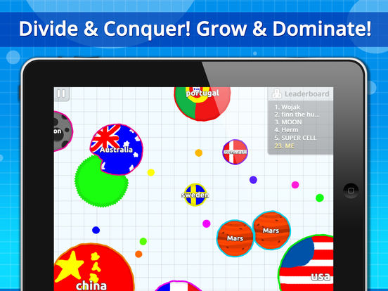Agar.io Screenshots