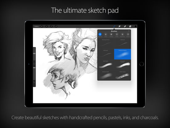 Screenshot #3 for Procreate – Sketch, paint, create.