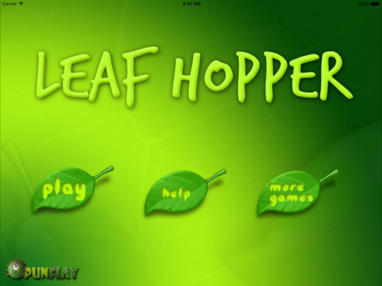 Leaf hopper HD iPad Screenshot 2