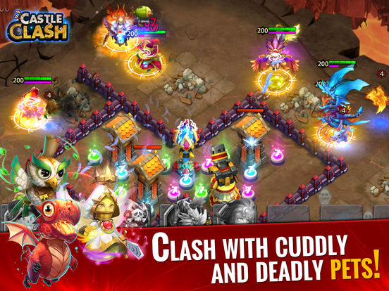 Screenshots of Castle Clash: Age of Legends for iPad