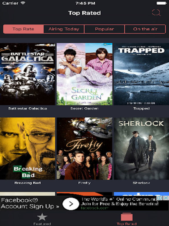 The Big Box - TOP movies & TV show previews Screenshots