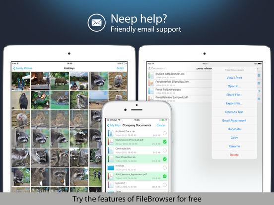 NetPortalLite - Access files on remote computers iPad Screenshot 5