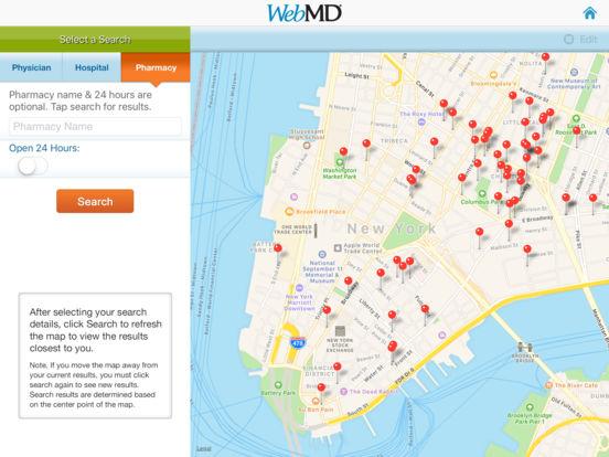 WebMD for iPad iPad Screenshot 4